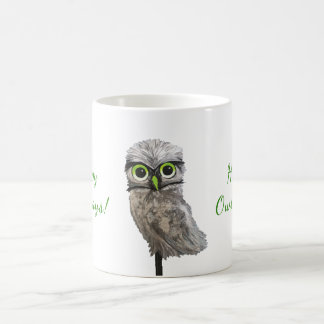 Burrowing Owl Holidays Coffee Mug