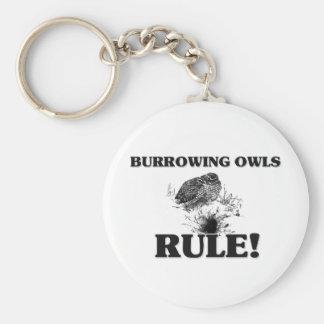 BURROWING OWLS Rule! Key Ring