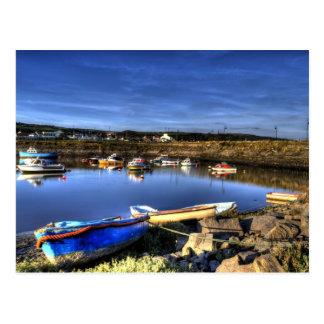 Burry Port Harbour Postcard