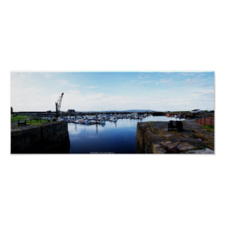 Burry Port Harbour Poster