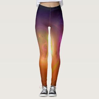 Burst of colour leggings