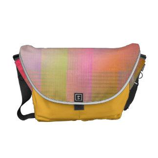 Burst of colour messenger bags