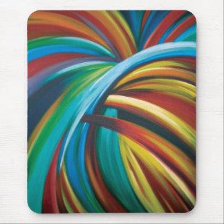 Burst of colour mouse mat