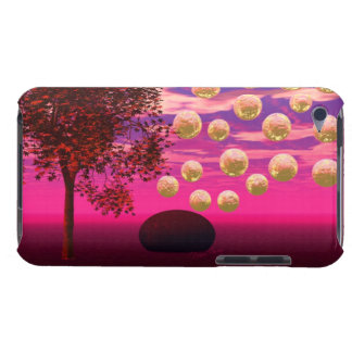 Burst of Joy – Abstract Magenta & Gold Inspiration iPod Touch Case