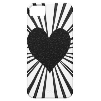 Burst Of Love (Black) Case For The iPhone 5