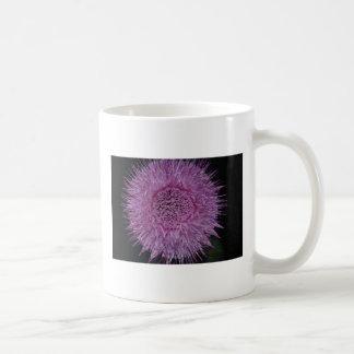 Burst of Purple Classic White Coffee Mug