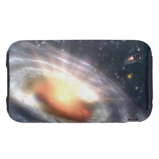 Bursting Black Hole Tough iPhone 3 Cover