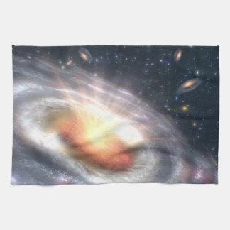 Bursting Black Hole Tea Towel