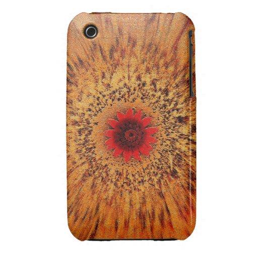 BURSTING FLOWER... iPhone 3 Case-Mate CASES