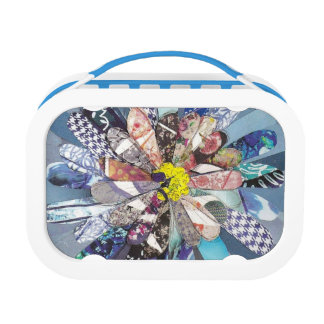 Bursting flower lunch box