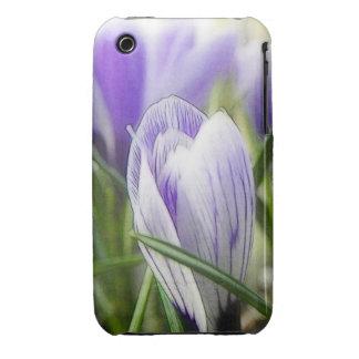 Bursting Into Blossom - Crocuses! iPhone 3 Cases