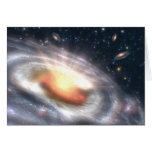 Bursting with Stars and Black Holes Greeting Cards