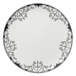Burtonesque Victorian Gothic Style #1 Plate
