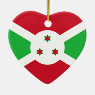 Burundi – Burundian Flag Ornament