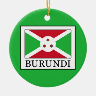 Burundi Christmas Ornament
