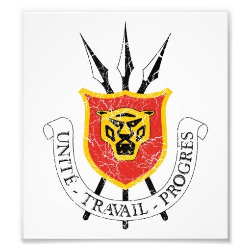 Burundi Coat Of Arms Photo Print