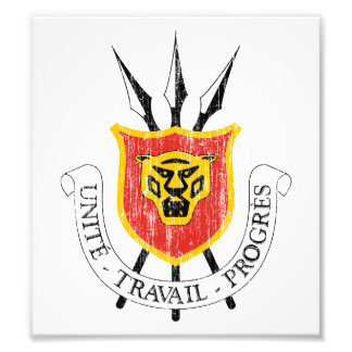 Burundi Coat Of Arms Photograph