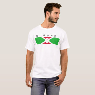 Burundi country flag symbol long T-Shirt