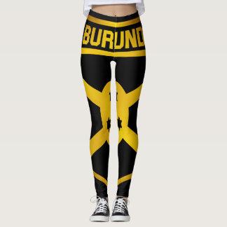 Burundi Emblem Leggings
