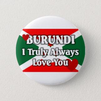 Burundi Flag 6 Cm Round Badge