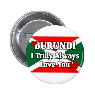 Burundi Flag 6 Cm Round Badge
