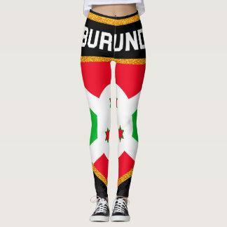 Burundi Flag Leggings
