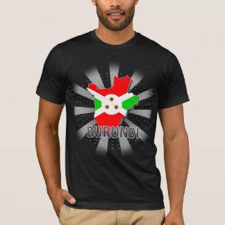 Burundi Flag Map 2.0 T-Shirt