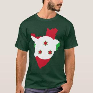 Burundi Flag Map T-Shirt
