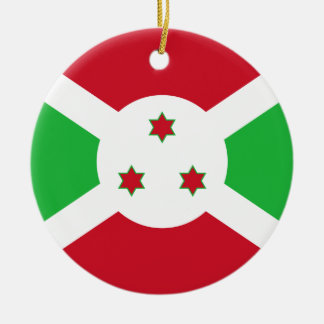 Burundi Flag Ornament