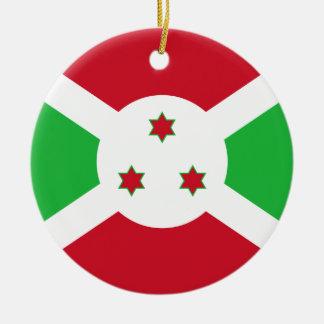 Burundi Flag Ornament