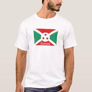 Burundi flag souvenir tshirt