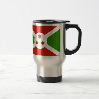 Burundi Flag Travel Mug