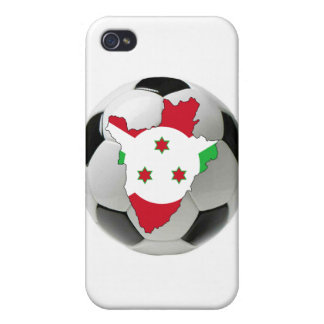 Burundi football soccer covers for iPhone 4