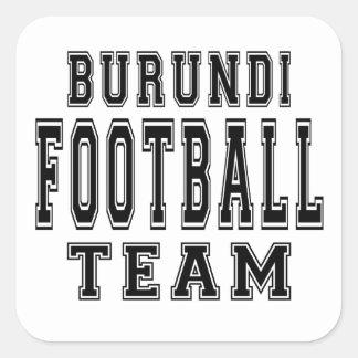 Burundi Football Team Stickers