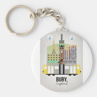 Bury Key Ring