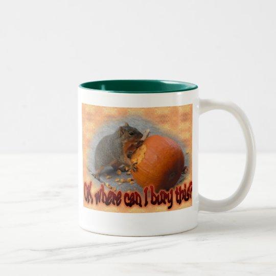 Bury this? Two-Tone coffee mug