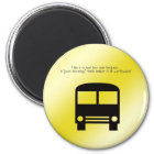 Bus Aide A Good Morning Smile Black Bus Magnet