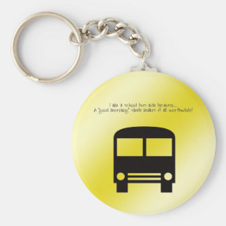 Bus Aide - A Good Morning Smile Keychain