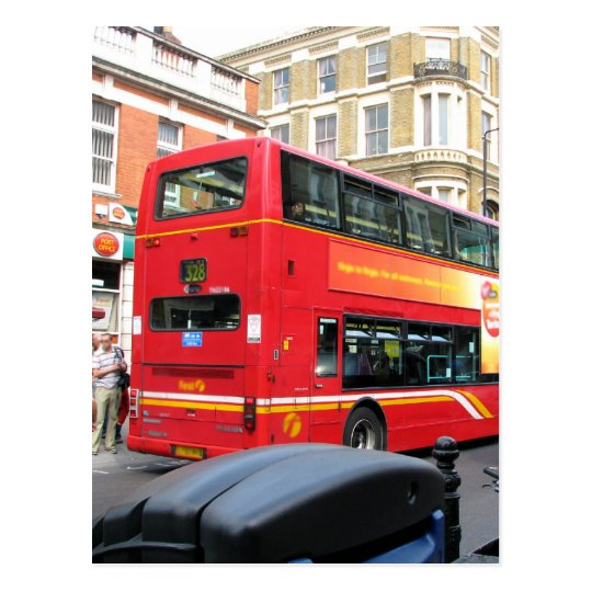 Bus Back Postcard