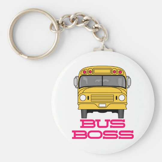 Bus Boss Key Ring