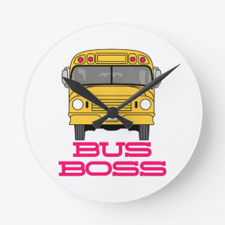 Bus Boss Wall Clocks