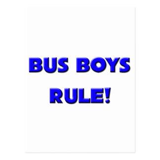 Bus Boys Rule! Postcard