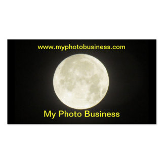 Bus. card - Moon Business Card Template
