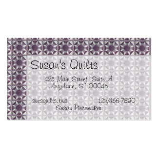 Bus. Card - Quilt Pattern - Spools of Thread Pack Of Standard Business Cards