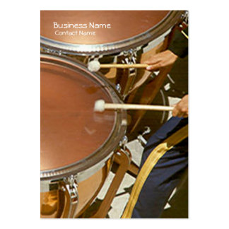 Bus. Card - Timpani Large Business Cards (Pack Of 100)