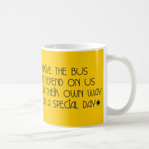 Bus Driver - Day By Day Poem Mug