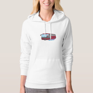 Bus Driver Light/Red Hoodie