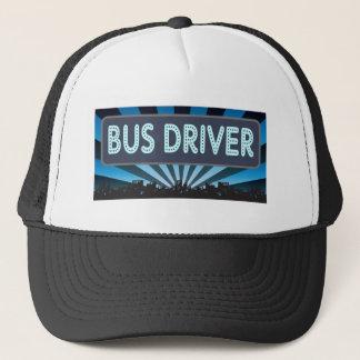 Bus Driver Marquee Trucker Hat