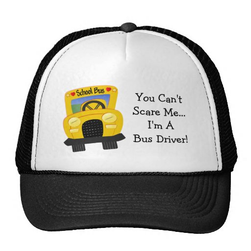 Bus Driver Scare (customizable) Hat