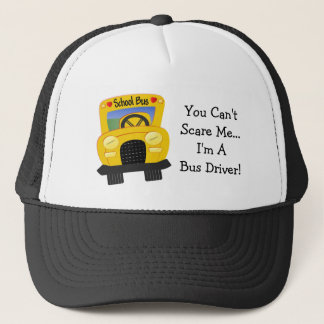 Bus Driver Scare (customizable) Trucker Hat